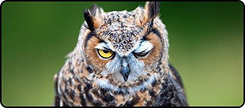 DKLZY Anti-Slip owl wink bird amusing Super Big 900x400x4mm(35.43x15.75x0.16inch) Mouse Pad