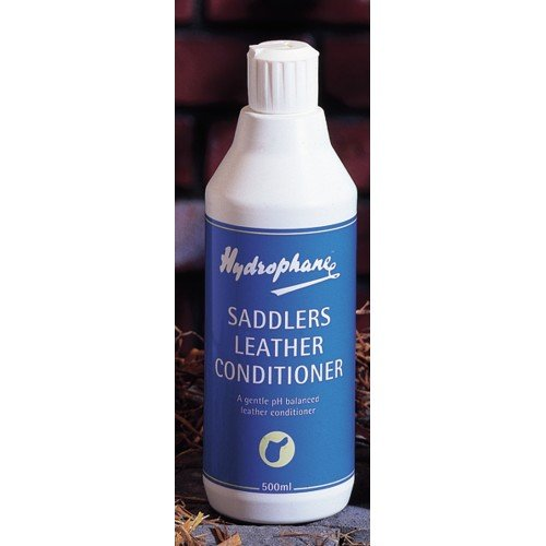 William Hunter Equestrian Hydrophane Saddlers Leather Conditioner - 500ml Conditions and renovates Leather