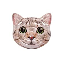 Intex Cat Face Inflatable Island, 58in x 53in