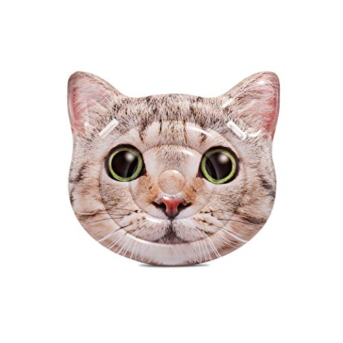 Intex Cat Face Inflatable Island, 58in x ()