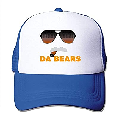 Da Bears Ditka Funny Chicago Mesh Trucker Caps/Hats Adjustable Unisex Black