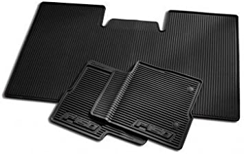 OEM NEW 2010-2012 Ford F-150 SUPER CAB All-Weather Vinyl Floor Mats Rubber