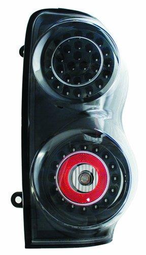 IPCW LEDT-406CB Bermuda Black LED Tail Lamp - Pair