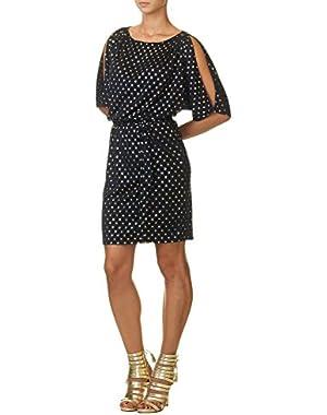 Jessica Simpson Women's Women's Nacy Cocktail Dress in Size 8 US ( UK / 8-L EU) Navy