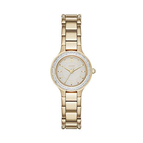 (DKNY Women's NY2392 CHAMBERS Gold Watch)
