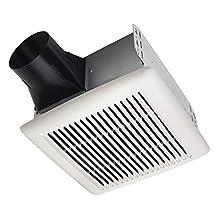 Broan-Nutone AE80B InVent Series Single-Speed Fan, Ceiling Room-Side Installation Bathroom Exhaust Fan, ENERGY STAR Certified, 1.5 Sones, 80 CFM