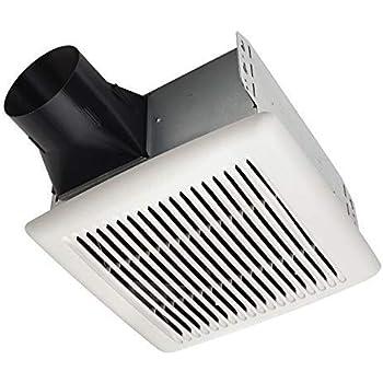 Broan-NutoneAE80BInVent Series Single-Speed Fan, Ceiling Room-Side Installation Bathroom Exhaust Fan, ENERGY STAR Certified, 1.5 Sones, 80 CFM