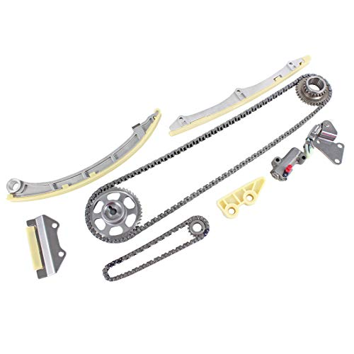 DNJ TK227 Timing Chain Kit for 2002-2011 / Acura, Honda/Accord, CR-V, Element, TSX / 2.4L / DOHC / L4 / 16V / 2354cc / K24A1, K24A2, K24A4, K24A8, K24Z1
