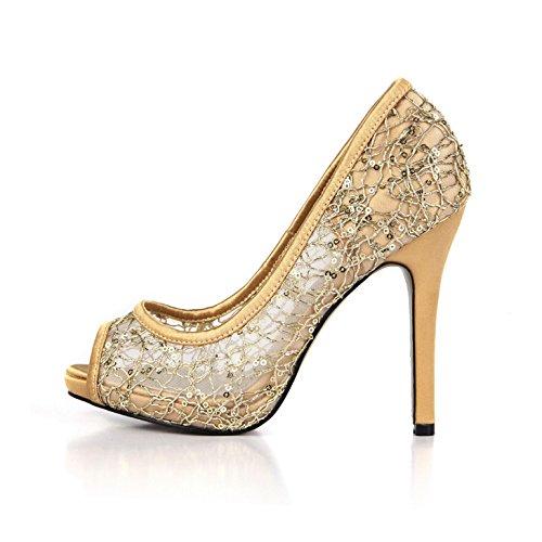 zapatos de bodas lattice mujer cena ZHZNVX primavera like montaje Sandalias que de black Tsai superficial elegante peces zapatos mujer de de fueron de zapatos nuevo agua qwaB8Tq