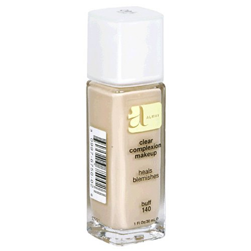Almay Clear Complexion Makeup, Buff 140, 1-Ounce Bottle