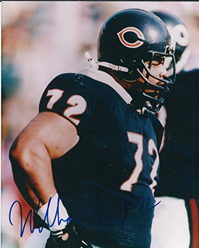 - Autographed William Perry 8x10 Chicago Bears Photo with COA