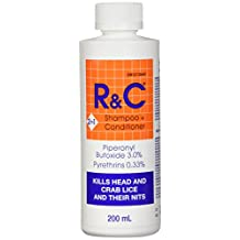 R&C Lice Treatment Shampoo/Conditioner, 200g