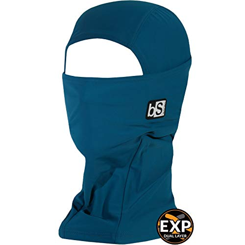 BLACKSTRAP Expedition Hood Balaclava Face Mask, Dual Layer Cold Weather Headwear for Men and Women for Extra Warmth, Mallard