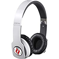 Noontec Zoro HD Adjustable On Ear Stereo Hi-Fi Earphone Headphone for PC MP3 MP4 iPod iPhone iPad Tablet Cellphone Mobile Phone-White