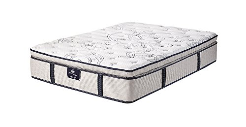 Serta Roswell Super Pillow Top Mattress, Queen (Plush Super Pillow Top)