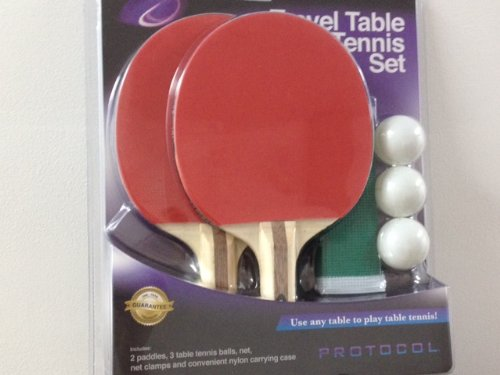 Protocol Travel Table Tennis Set