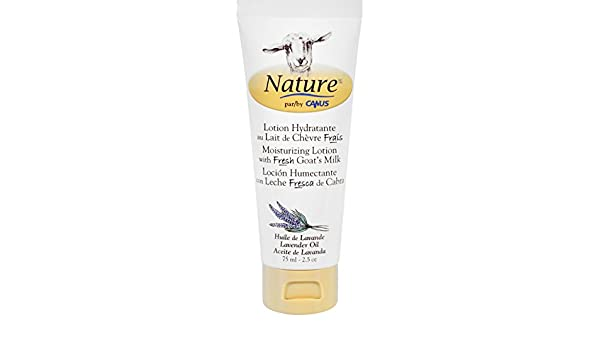 Amazon.com : Nature By Canus Lotion - Goats Milk - Nature - Lavender Oil - 2.5 oz : Beauty