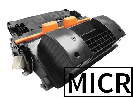 Premium Black Laser Printer MICR Toner Cartridge Magnetic Ink - Replaces HP CF281X 81X - Compatible with HP Enterprise M605DN, LaserJet Enterprise MFP M630 series by PRIMETONER