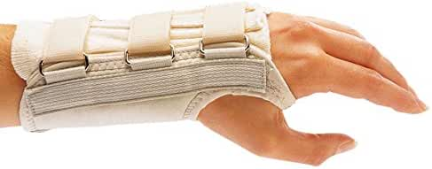 Rolyan A915LXL D-Ring Left Wrist Brace, XL