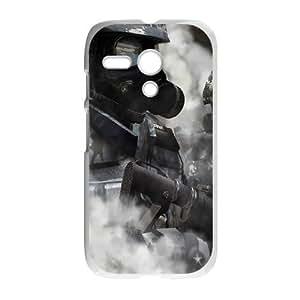 Motorola G Cell Phone Case White Riot Police JSK691408