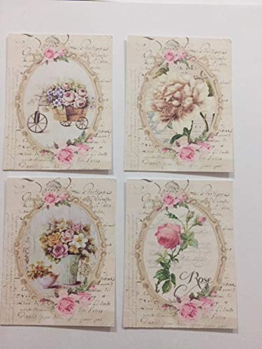Victorian Shabby Gift Tags/Die Cuts Journal Tags 8 - Gift Tags Victorian