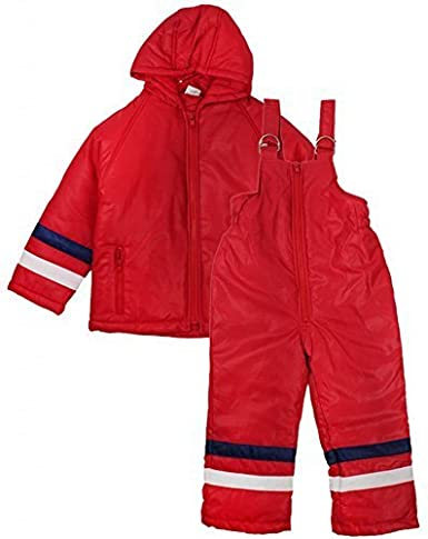 Boys Dungaree Salopettes & Jacket Snow Suit Ski Winter Set Sizes from 6 Months to 4 Years
