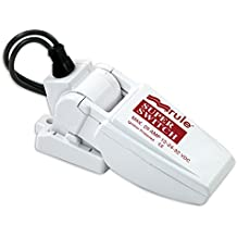 Rule SuperSwitch Float Switch, Moisture Tight Seals, 12, 24 or 32 Volt