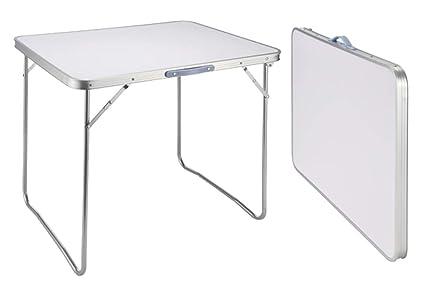 Tisch Klappbar.Campingtisch Bistro Tisch Klappbar 60x80x68 Tragegriff Falttisch