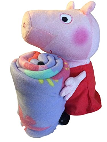 Peppa Pig Plush Pillow Hugger and Throw Blanket by Entertainment One UK