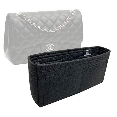 Zoomoni Chanel Classic Flap Medium Bag Insert Organizer - Premium Felt (Handmade/20 Colors)