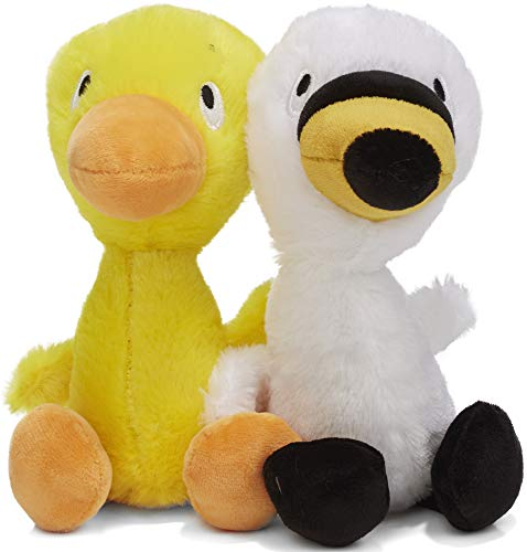 KIDS PREFERRED Duck and Goose Plush Set (Duck Duck Goose Board Game)