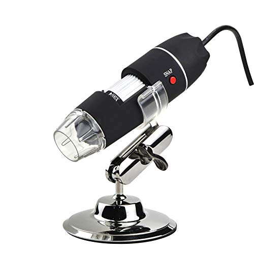 1000X Digital USB Microscope with 8 LED Lights Adjustable Electronic Biological Microscope Magnifier 40x ~1000x