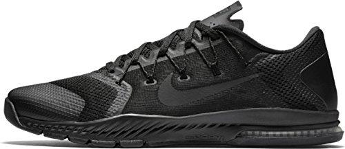 Nike Air Zoom Train Complete Mens Running Trainers 882119 Sneakers Shoes (UK 5.5 US 6 EU 38.5, Black Black Black 003)
