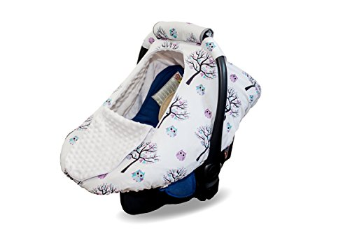 infant cozy car seat cover - 9
