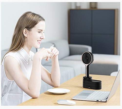 Biblioteca Fan dormitorio Mini USB studente portatile ufficio carino Mano trasportare Piccolo ventilatore elettrico Perfetto Campo di raffreddamento Laptop