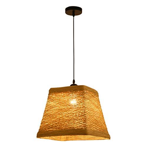 Y.H.Valuable Eclairage de Plafond Lustre Restaurant Bar étude éclairage Suspension Style Rustique rougein Antique Plafond Suspendu (Petit) Lustres Luminaires intérieur