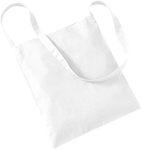 Westford Mill–Bolsa de almacenamiento bolsa de compras bolso Tote Sling Bag para la vida blanco