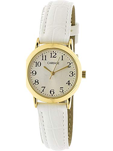 - Timex Women's Carriage C3C747 Gold Leather Quartz Fashion Watch