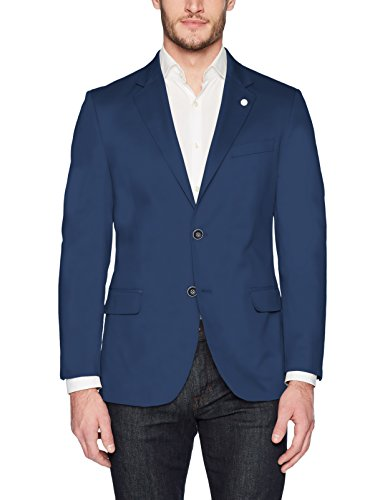 Nautica Men's Solid Cotton Suit Separate Jacket, Blue, ()