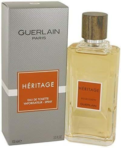 HERITAGE by Guerlain Men's Eau De Toilette Spray 3.4 oz - 100% Authentic