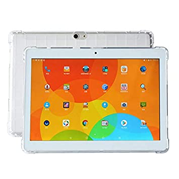 XHEVAT Fundas para Tablet PC Funda Transparente de TPU a ...