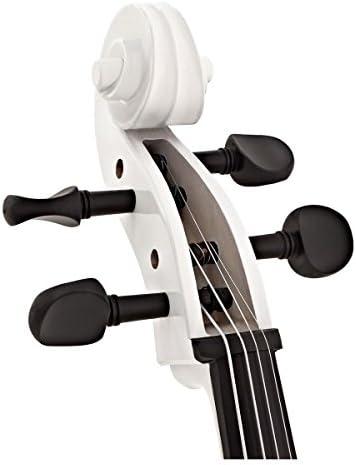 Violonchelo de Estudiante de 4/4 con Estuche de Gear4music Blanco: Amazon.es: Instrumentos musicales