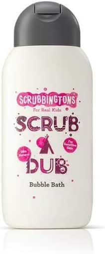 Scrubbingtons Scrub A Dub Children Bubble Bath Cotton Soft Bubble Bath, 1x 250ml