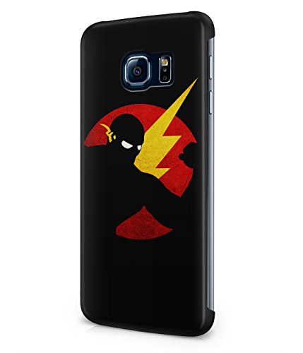 The Flash Justice League Superhero Comics Grunge Plastic Snap-On Case Cover Shell For Samsung Galaxy S6 EDGE