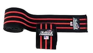 Schiek Knee Wraps (1178B), Black
