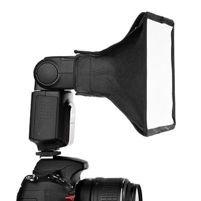 "Neewer 8""x6""/20x15cm Translucent Softbox for Canon G1 X/600D/1D X/SX40 HS/SX150 IS/60D/550D,Nikon D7000/D5100/ D5000/D3100/D3000/D700/D300,Neewer TT560 TT520 TT660 TT850 TT860 and Other DSLR Flashes from Neewer"
