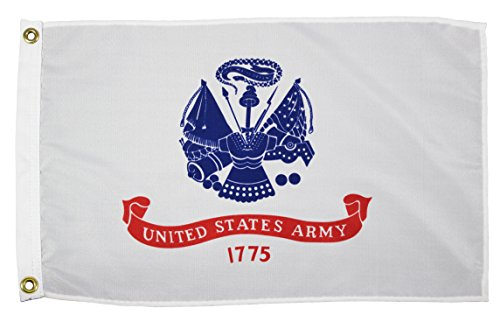 Military Army Unisex Army Military Flagarmy Military Flag, White, 3' x 5' by Flagpole-To-Go