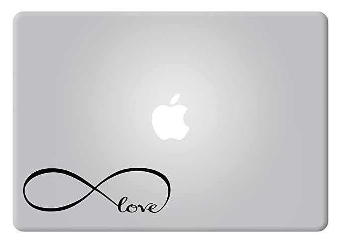Amazon Infinity Love Symbol Apple Macbook Decal Vinyl Sticker