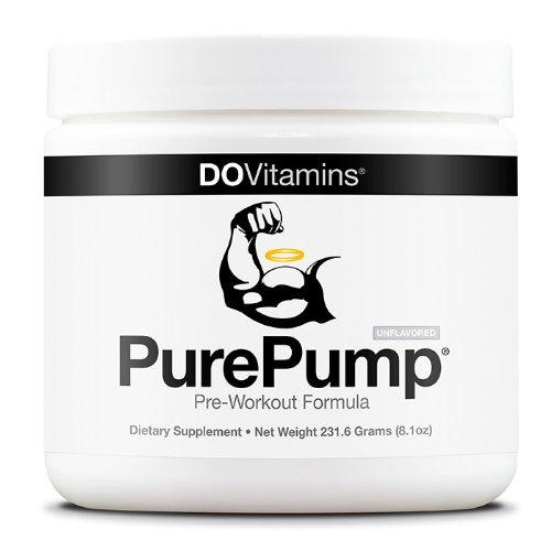 PurePump - Natural pré-entraînement supplément - Vegan, non-OGM