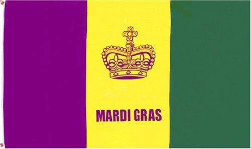 Image result for mardi gras flag